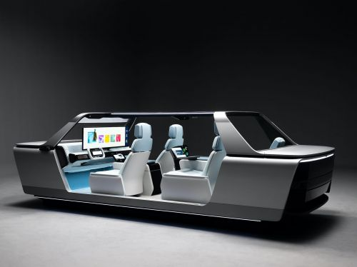 Samsung has unveiled a 'digital cockpit' concept that puts a 49-inch screen in front of the windshield -see how it works