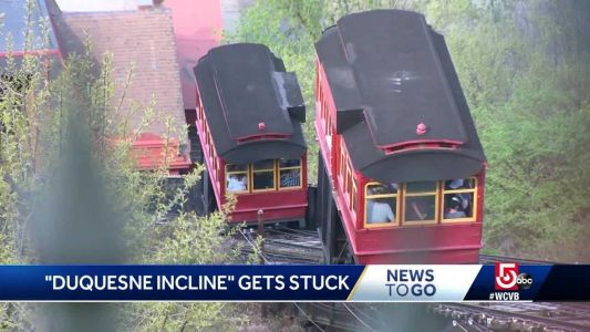 Passengers stranded for hours on stuck funicular