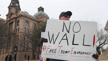 ACLU Sues Trump Administration Over Wall Money Grab By Claiming National Emergency