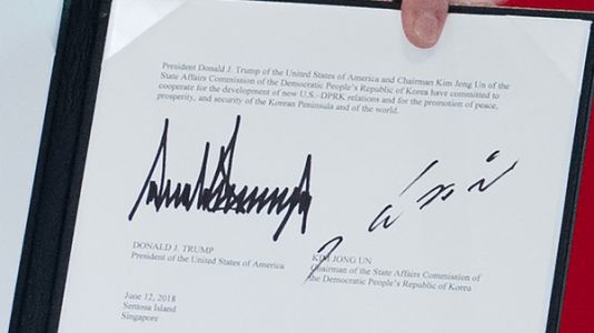 Read The Joint Statement From President Trump And Kim Jong Un