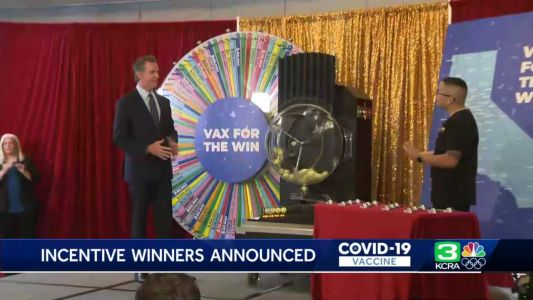 Sacramento County resident picked as $50,000 winner in California vaccine lottery