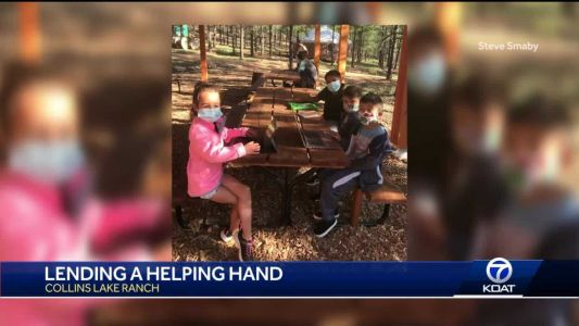 Collins Lake Ranch lends helping hand while crews fight Luna Fire
