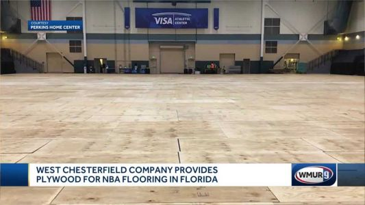 West Chesterfield company supplies plywood for NBA's return