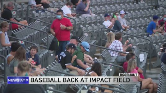 Chicago Dogs resume baseball in Rosemont with COVID-19 safety precautions