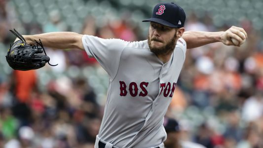 MLB postseason 2018: Red Sox ace Chris Sale admitted to hospital with stomach illness