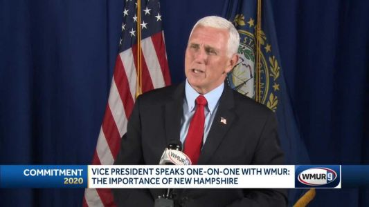 Pence speaks about importance of NH