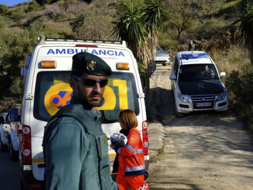 A toddler fell into a well in Spain. Rescuers can't reach him, and his parents no longer hear him