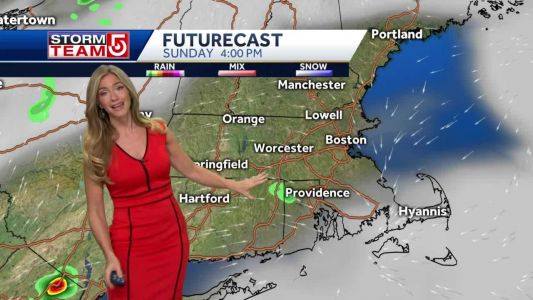 Video- Warm, Humid With PM Storm Chance