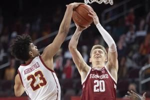 USC routs Stanford 79-42 to stay in hunt for Pac-12 title