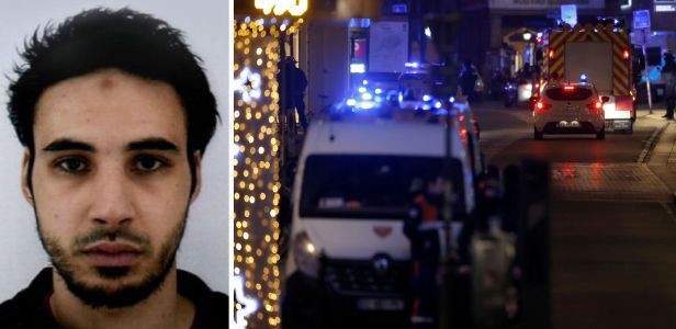 First photo of Strasbourg terror suspect released as France wants him dead or alive over Christmas market gun rampage
