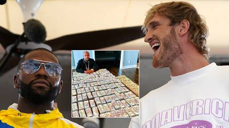 Floyd Mayweather & Logan Paul rake it in for boxing stunt with 'more than a million views' of wallet-punishing pay-per-view fight