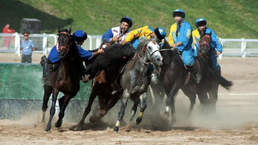 Headless Goat Polo Is A Top Sport At World Nomad Games