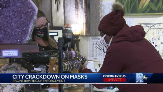 Racine to crack down on mask mandate violators