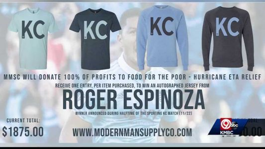 'Doing the right thing': Local business, Sporting KC helping Hurricane Eta victims