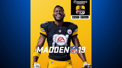 Steelers WR Antonio Brown Unveiled As Madden NFL 19 Cover Athlete