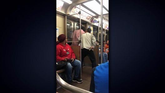 'I'll break your head in one punch,' Boxer confronts armed robber on train