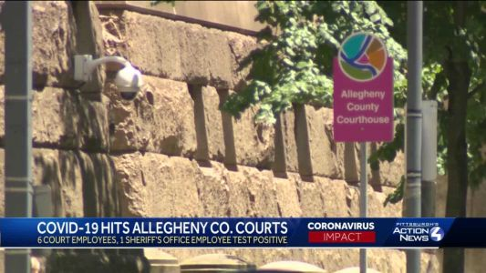 COVID-19 hitting Allegheny County court employees, attorneys