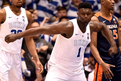 Zion Williamson, RJ Barrett propel No. 1 Duke past Virginia