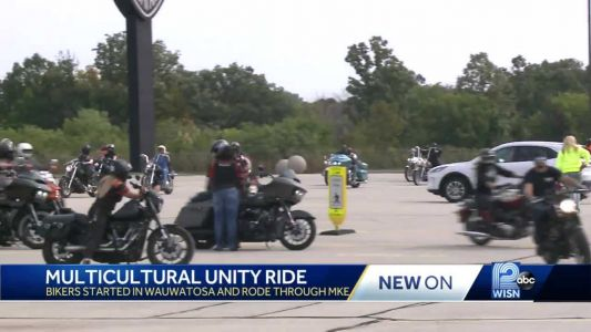 Bikers ride through Milwaukee County to demonstrate unity