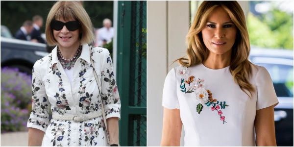 Anna Wintour subtly shaded Melania Trump's fashion sense by lauding Michelle Obama's style