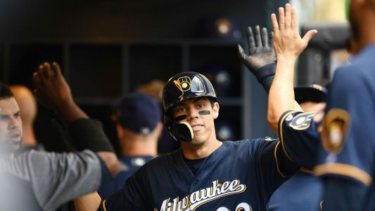 Christian Yelich says Baker Mayfield's 'NL MVP' shoutout was much appreciated