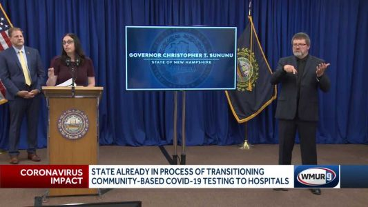 State begins transitioning COVID-19 testing to hospitals