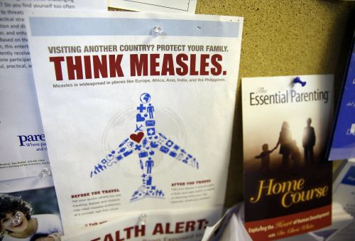 US health officials threatened to invoke a rare 'Do Not Board' travel ban to contain the country's growing measles outbreak