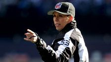Sarah Thomas becomes 1st woman to officiate NFL postseason game