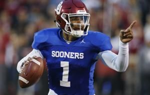 Oklahoma QB Hurts cramming for only year with Sooners