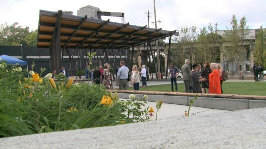 Paristown garden and outdoor event space unveiled