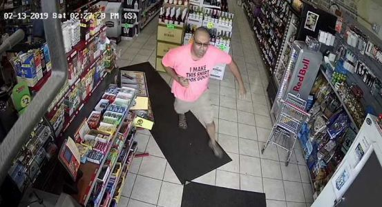 Man wanted in West Milwaukee liquor store robbery