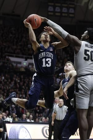 Edwards, Haarms team up to lead No. 12 Purdue past Penn St