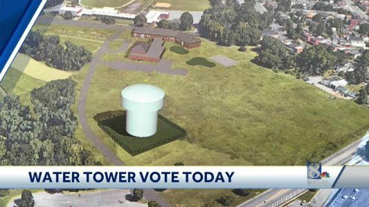 Residents are not happy with the School District of Lancaster's plan to put a huge water tower in what is currently a park