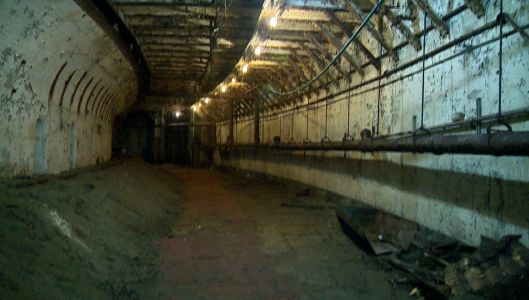 One of Boston's original subway tunnels opens to the public