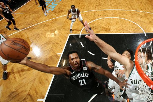 Nets forward knows best way to bust out of shooting slump