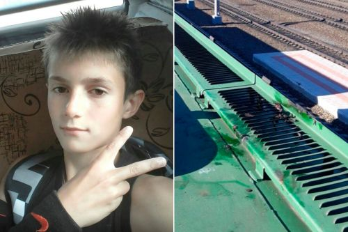 Teen electrocuted 'trying to impress girlfriend' by climbing on top of train