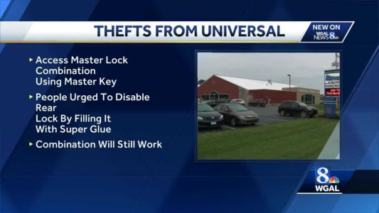 Universal Athletic Club working with police to stop locker room theft ring