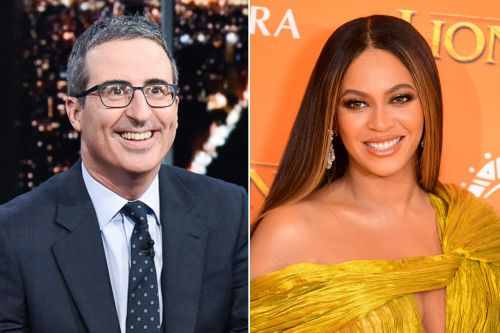 John Oliver was intimidated about a Beyoncé photo that she wasn't even in