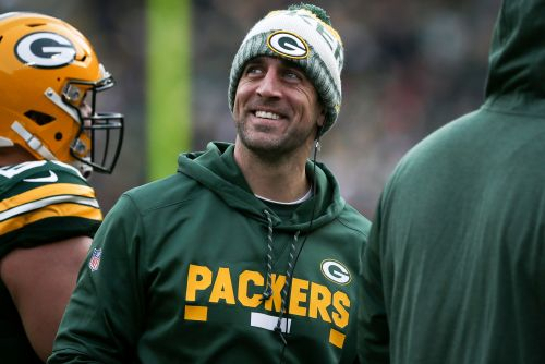 Aaron Rodgers sounds a lot different this season