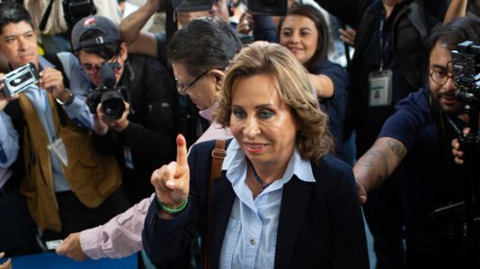 Former First Lady Leads In First Round Of Voting In Guatemala Presidential Election
