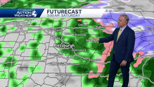Mostly sunny on Friday, rain for the weekend