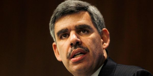Famed economist Mohamed El-Erian says its a 'real question mark' whether the massive valuations of tech giants like Amazon make 'sense' anymore
