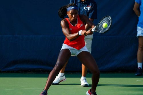 Coco Gauff's final US Open tune-up a sold-out affair