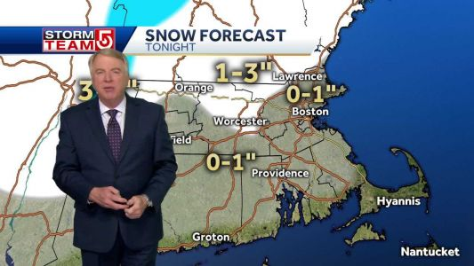 Video: Few snow showers transition into blustery Saturday