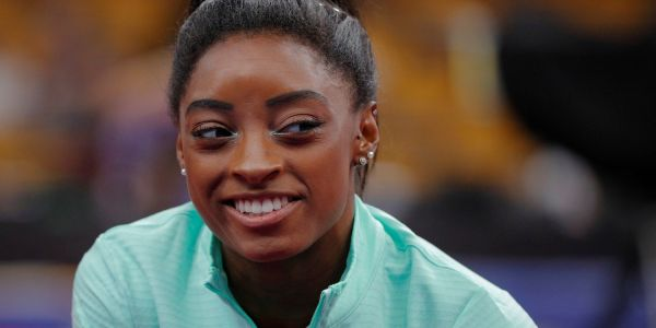 Simone Biles' new vault has never been attempted by a woman in international competition - and it looks she'll use it at the Tokyo Olympics