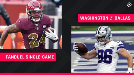 Thanksgiving FanDuel Picks: NFL DFS lineup advice for Week 12 Washington-Cowboys single-game tournaments