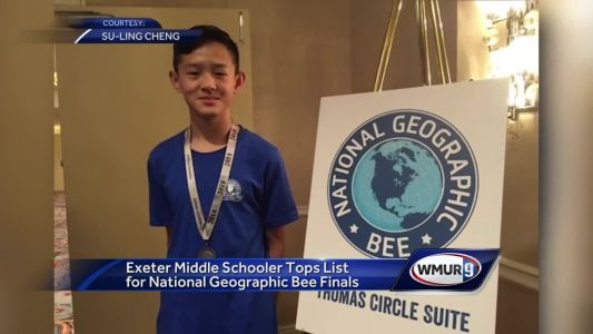 Exeter student tops list at National Geographic Bee finals