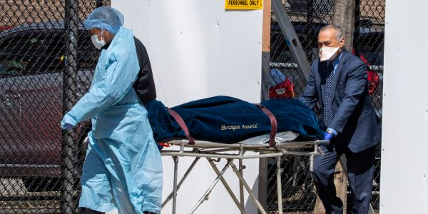 The US government reportedly asked the military for 100,000 body bags