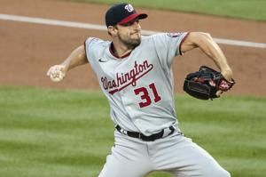 Healthy ace Scherzer pitches Nats past Mets 2-1 for 1st win