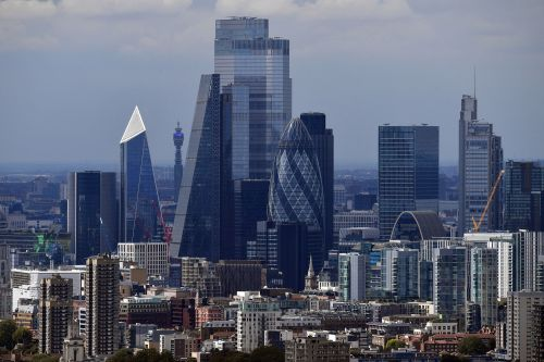 London gaining on New York in global financial centers ranking